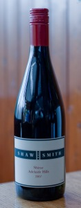Shaw and Smith Adelaide Hills Shiraz 2007